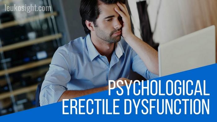 psychological erectile dysfunction